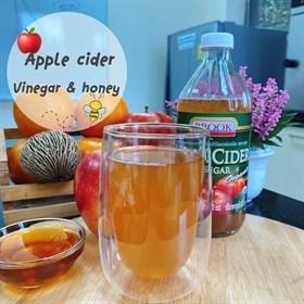 แอปเปิลไซเดอร์ผสมน้ำผึ้ง (Apple cider vinegar&honey)