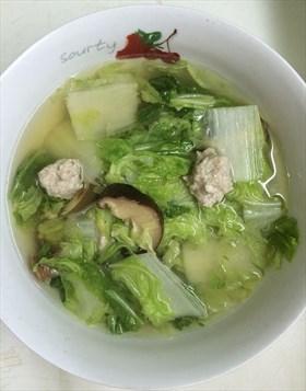 ต้มจืดผักกาดขาว
